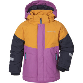 DIDRIKSONS Lun 3 Jacket Kids, rosa/amarillo